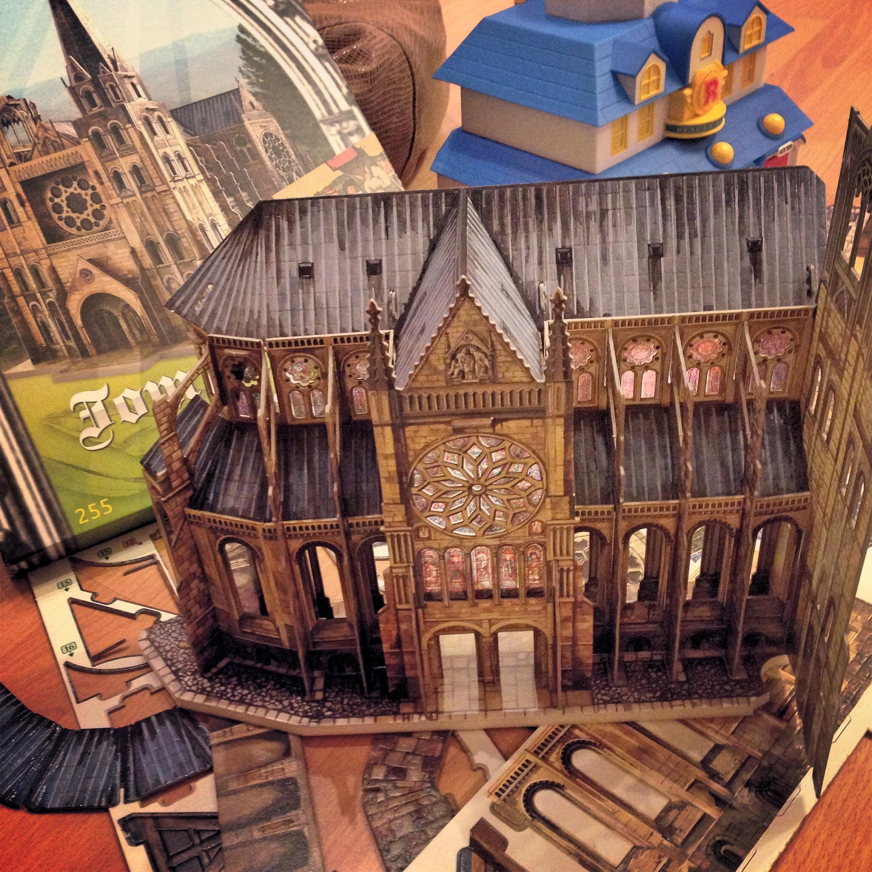 Сборка собора Умбум