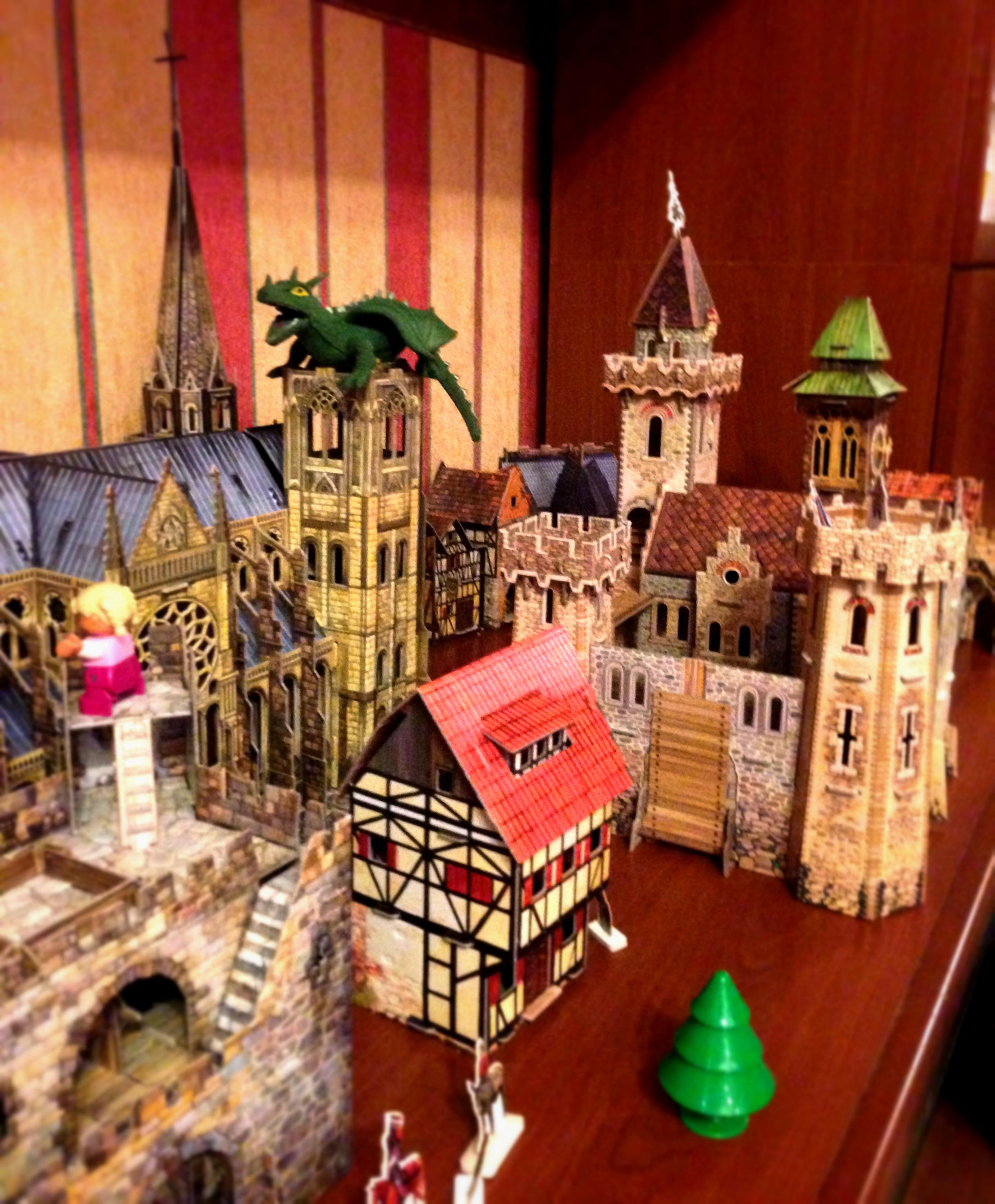 Средневековый город умбум