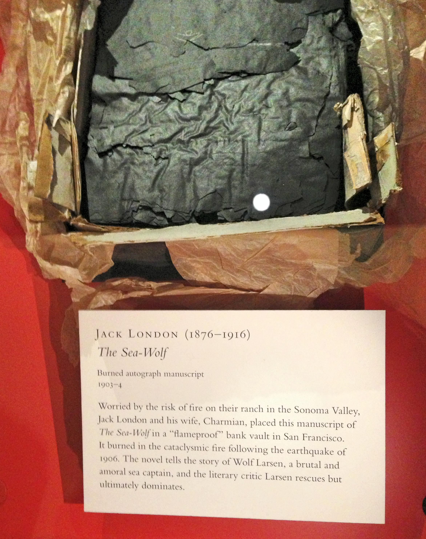 Джек Лондон сгоревшая рукопись