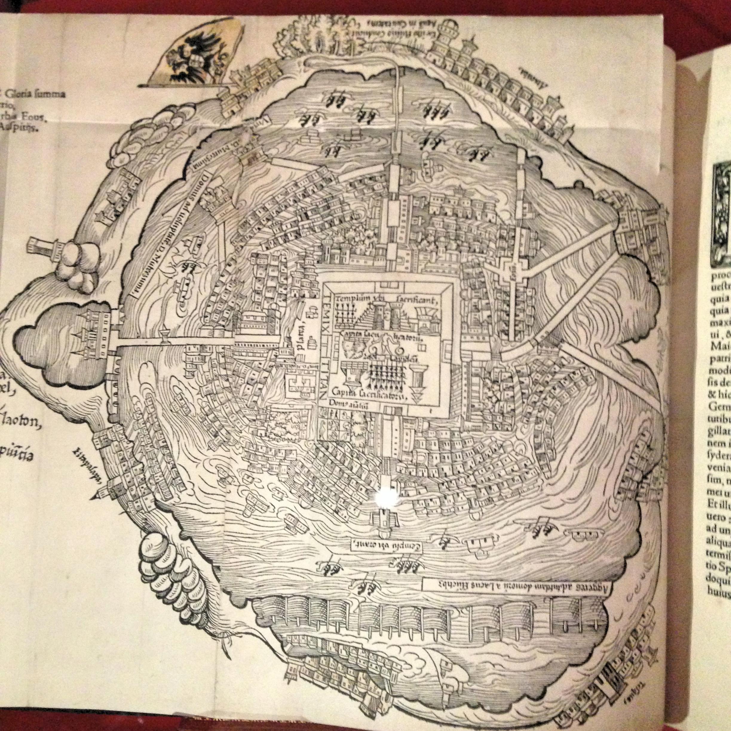 Карта Теночтилана