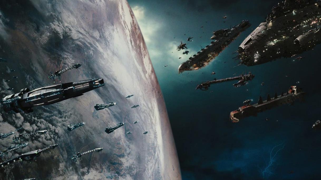 Перед космической битвой