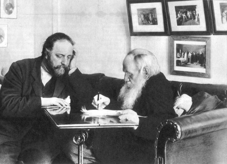Толстой и Чертков